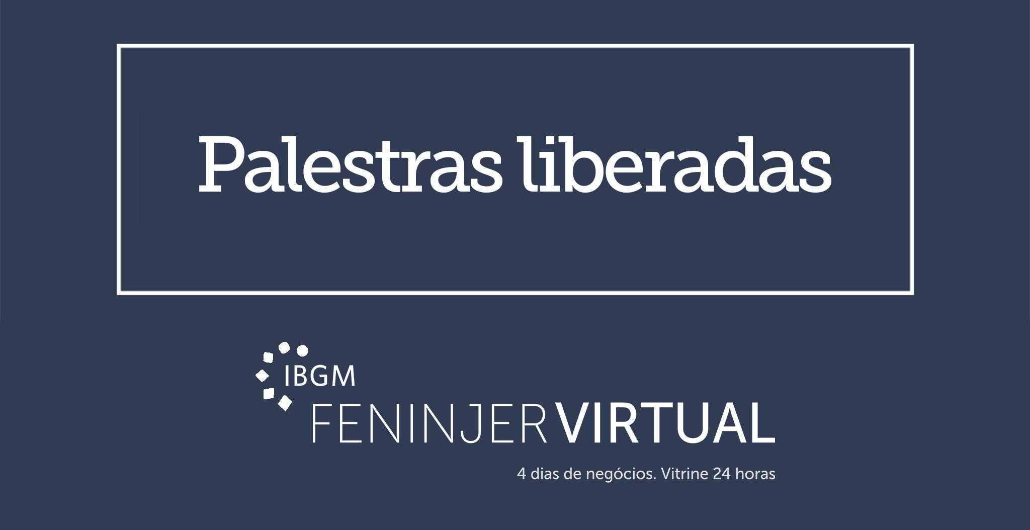 palestras Feninjer Virtual